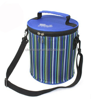 Polyester long shoulder insulated cooler bags