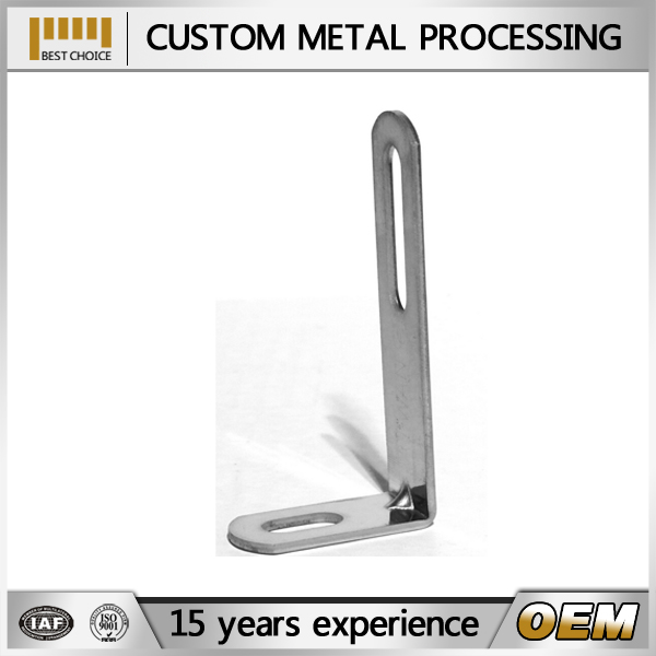 right metal angle bracket, single slot bracket, wall bracket for outdoor unit