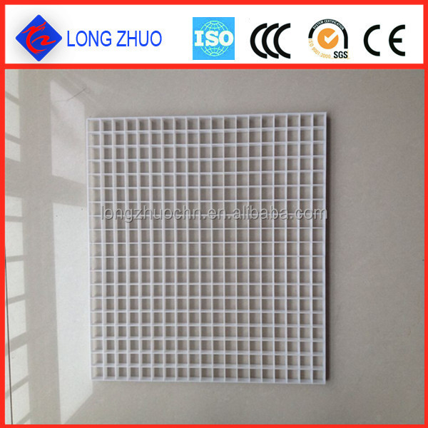 Ventilation ceiling air egg crate core diffuser/ Plastic egg crate louvers