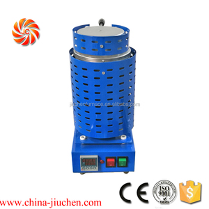 JC 3 Kg 2102F Gold Melting Furnace Machine 220V Kiln Casting Refining Precious Metals Melts Gold Silver Copper Tin Aluminum