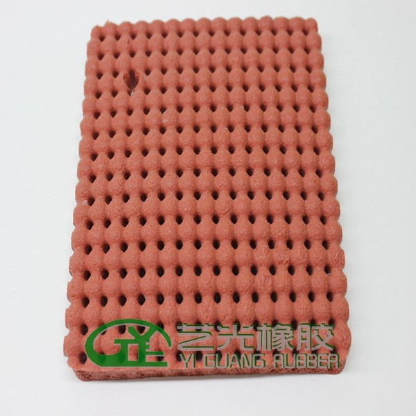 Silicone foam and silicone rubber for ironing table and presses