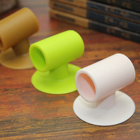 Muti-functional Wall Protector Stopper Rubber Pad Silicone Suction door stopper