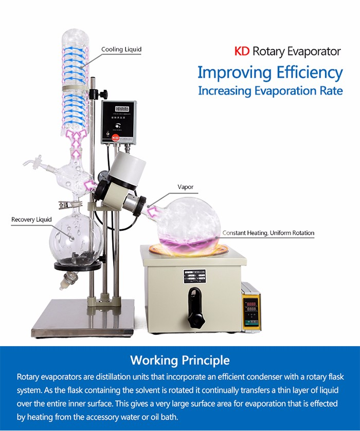 Conventional RE-501 Rotary Evaporator With Good Reputation