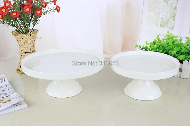 C Inch Cake Stand White