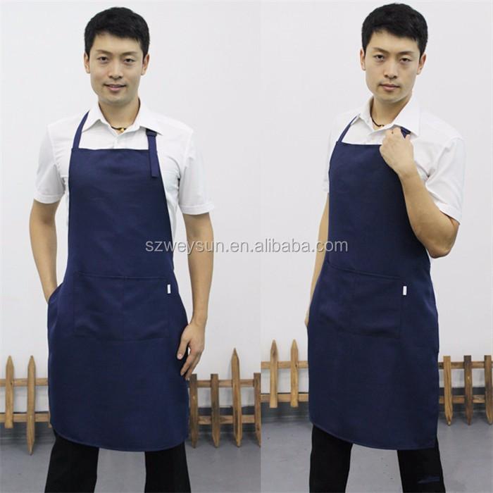 Wholesale adult men adjustable aprons multi-colour working clothes ...