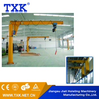 Lightweight Robust Construction Warehouse 10 ton jib crane