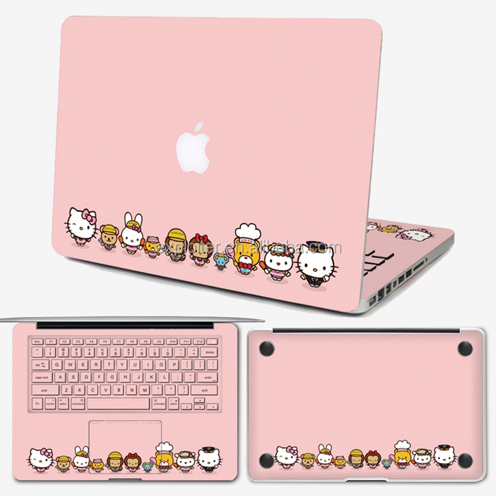 Low price removable customized new design for 14 inch laptop skin