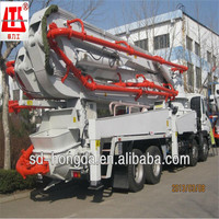 China Brand Hongda HDT5291THB-37/4 Truck-mounted Concrete Pump Price