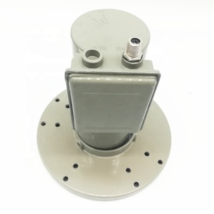 dual polarized C band universal single LNB 5150 5750 frequency 4.5-4.8GHz 17 K satellite broadcasting with signal ampliter