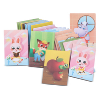 Onshine Wholesale cute kids first jigsaw toy wooden animal shape puzzle for kids