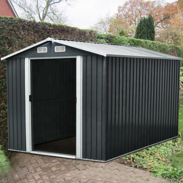 garden metal sheds for outdoor garden storage
