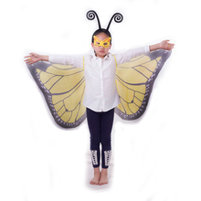 2017 Hot selling Christmas Decoration Butterfly Cape Wings for Kids