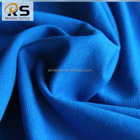 Shaoxing factory direct sale 100 cotton knitting fabric pique jersey fabric