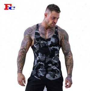 Wholesale Mens Sports Workout Plain Muscle Custom Stringer Burnout Tank Tops