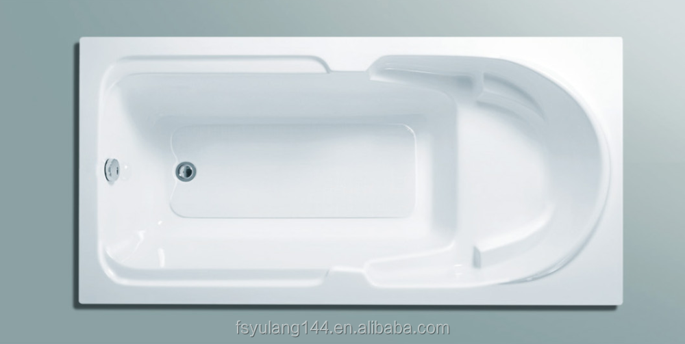 Ad-11 Nice Bathroom Design Low Price Common Used Acrylic Inset Bath ...