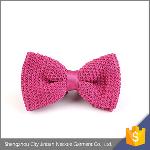 Professional cheap OEM accept personalized polyester self bowtie