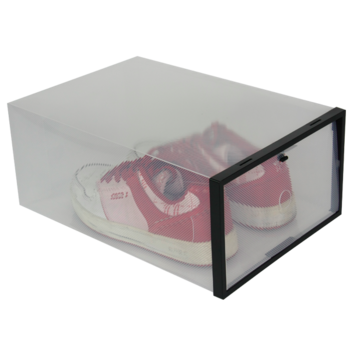 hot sale transparent shoe boxes clear plastic pp storage box packaging box buy transparent. Black Bedroom Furniture Sets. Home Design Ideas
