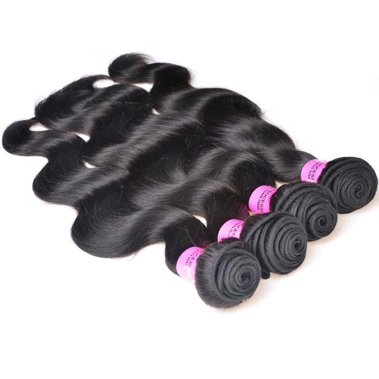 Xuchang Factory Direct Sale Unprocessed Brazilian Virgin Hair,Wholesale Cheap Body Wave Virgin Brazilian Hair