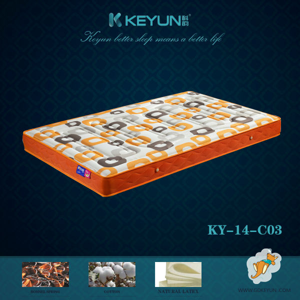 Pocket spring roll up mattress in a box KY-14-C03