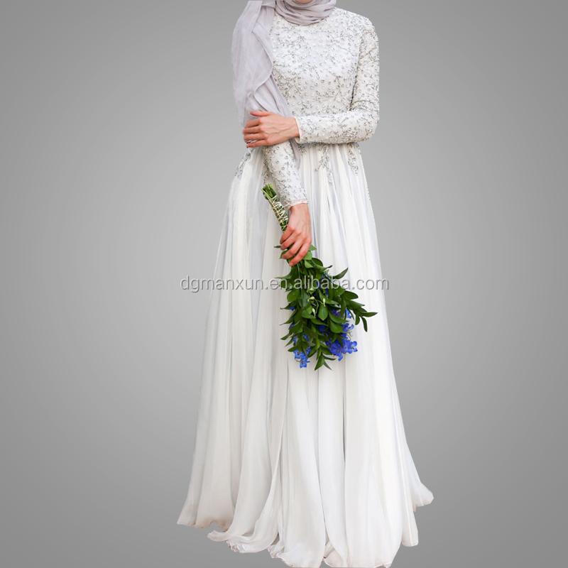 Hohe Qualitat Dubai Abaya Elegante Weisse Muslimischen Hochzeit Kostum Dunnes Kleid Langarm Extra Lange Rock Islamische Burka Kleidung Buy Langarm Abaya Langarm Hochzeit Kleid Eleganz Frauen Kleid Product On Alibaba Com