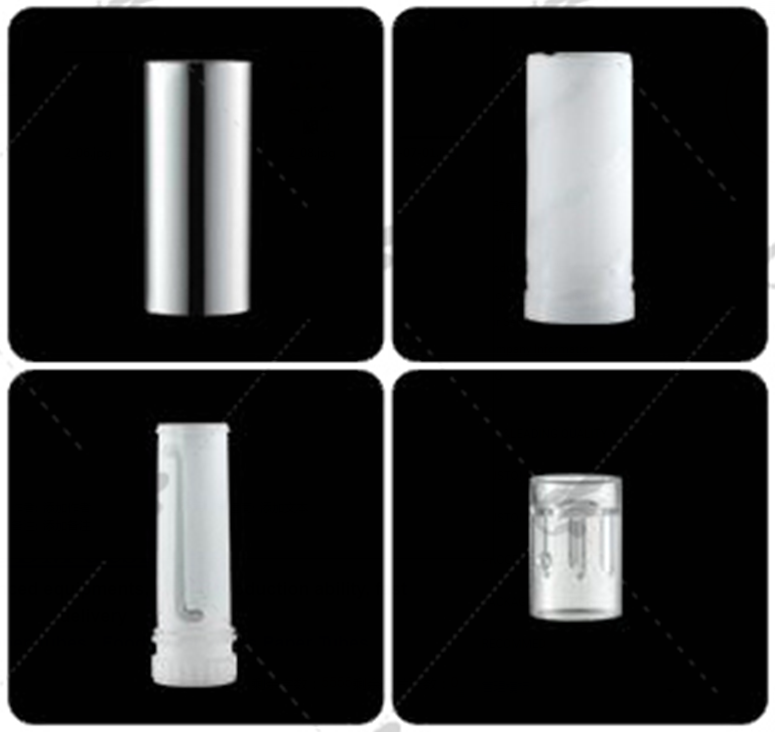 MOQ=100pcs cosmetics label lipstick lip balm gloss Biodegradable packaging paper tube container box private
