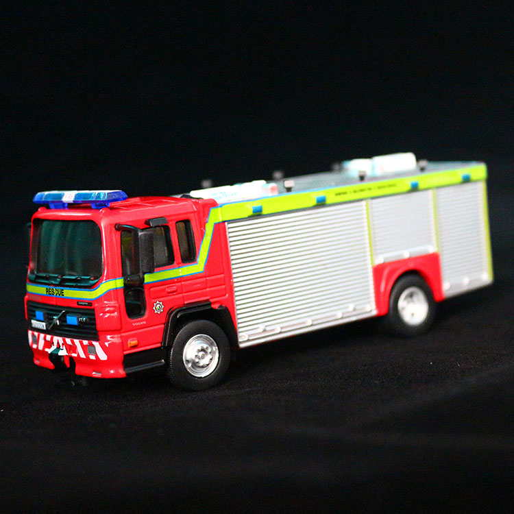 New Model Bus Fire Engines 1:64Model Zinc Alloy Diecast Models