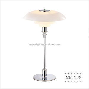 Replica PH metal glass table lamp, study table lamp