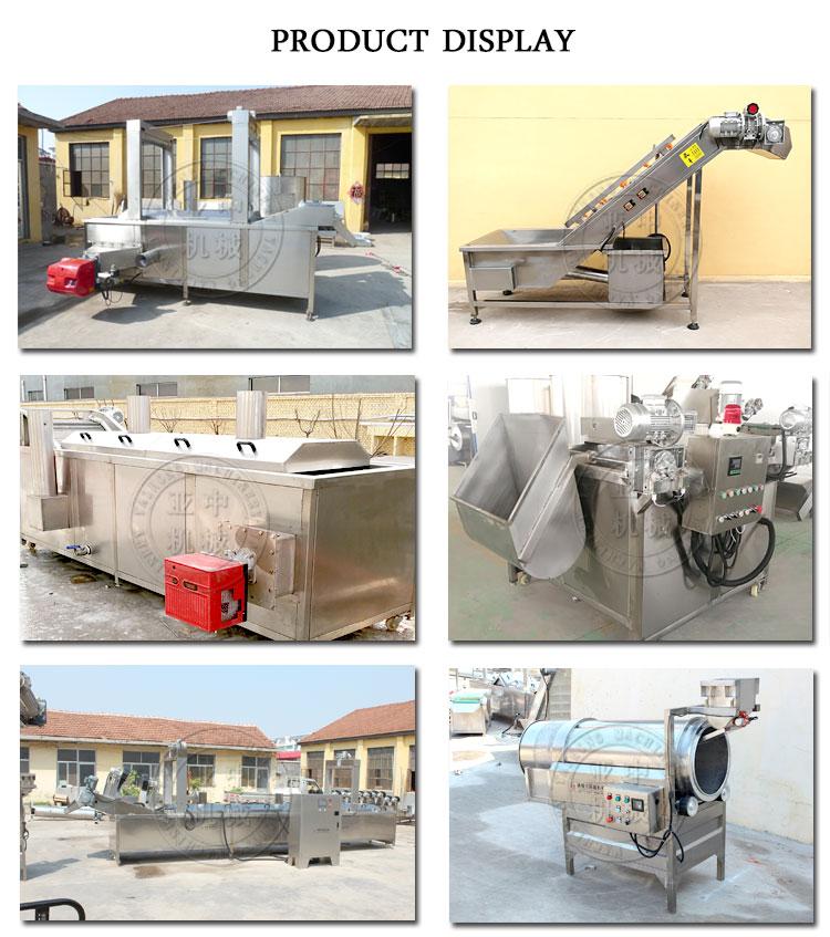 Automatique Composé Complet Machine À Frites Surgelées Banane Frites Ligne De Production