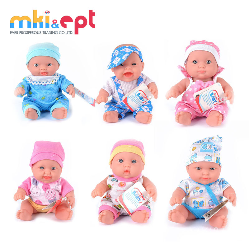 New Product 8 inch mini Fashion Lovely Baby Girl Doll Toy