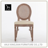 Clear back wholesale factory price antique home furniture/stackable french style wooden louis chair for wedding/restaurant/hotel