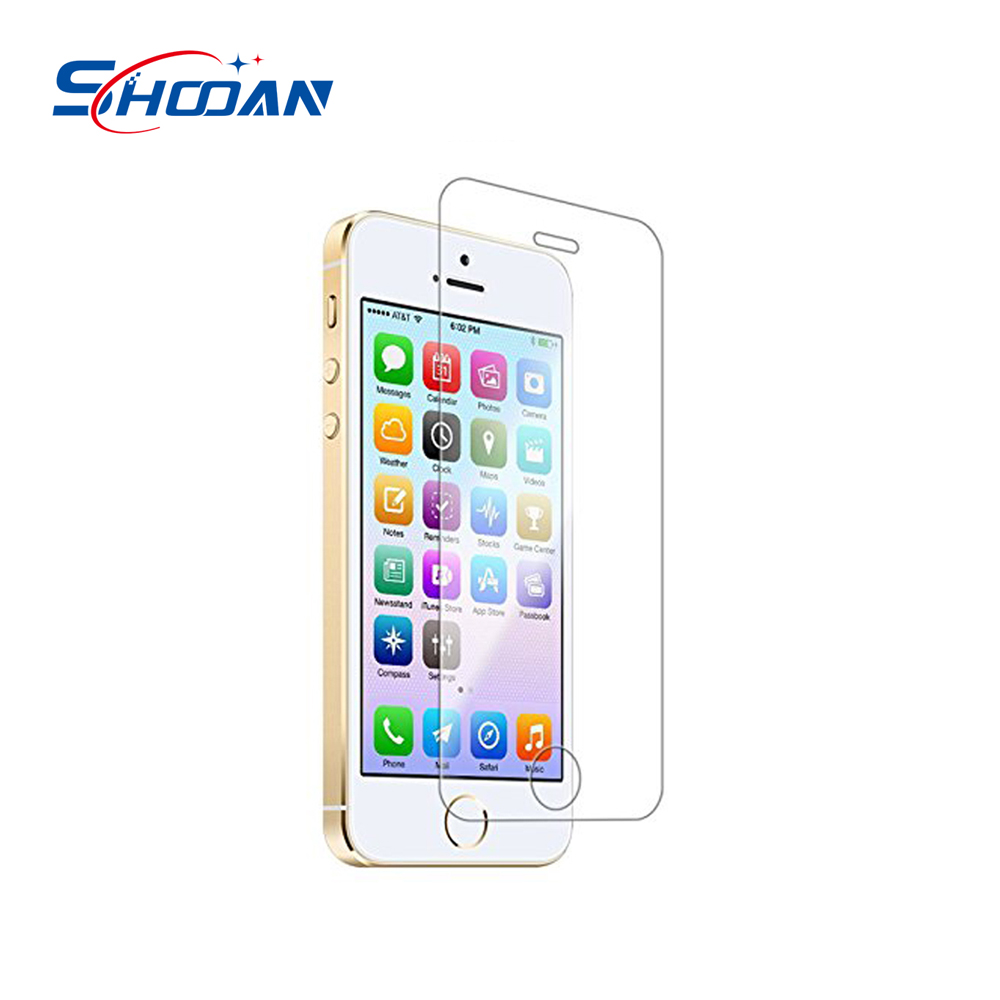 online shopping site anti blue light tempered glass mobile phone screen protector for iphone 5