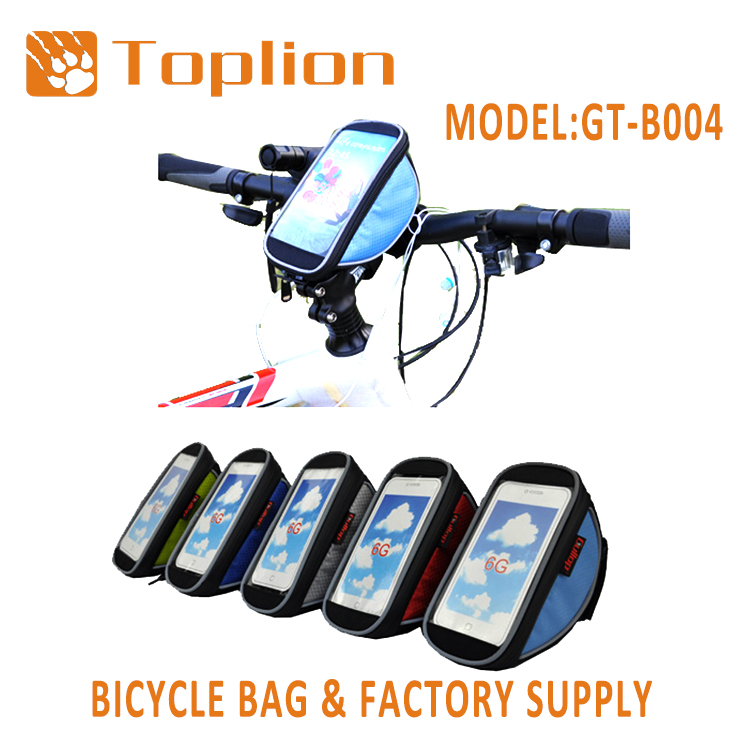Factory supply Top Tube Frame bicycle Bag for Cycling Accessories