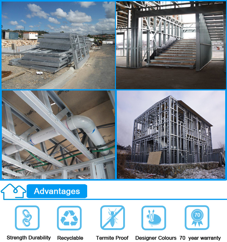 Cheap Lowes Prefab Home Kits Steel Frame Modular Kit House