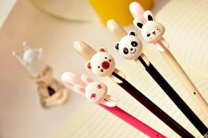 2pcs Korean Style Cute Animal Gel Pen 0.38mm