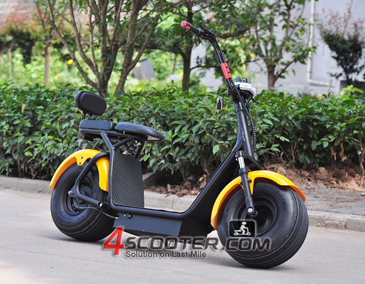 Best Selling 60v800w 1000 W Citycoco Dois Assento Scooter