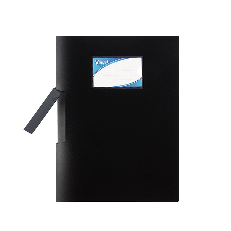 Side-opening Plastic A4 Presentation Folder with Swing Clip