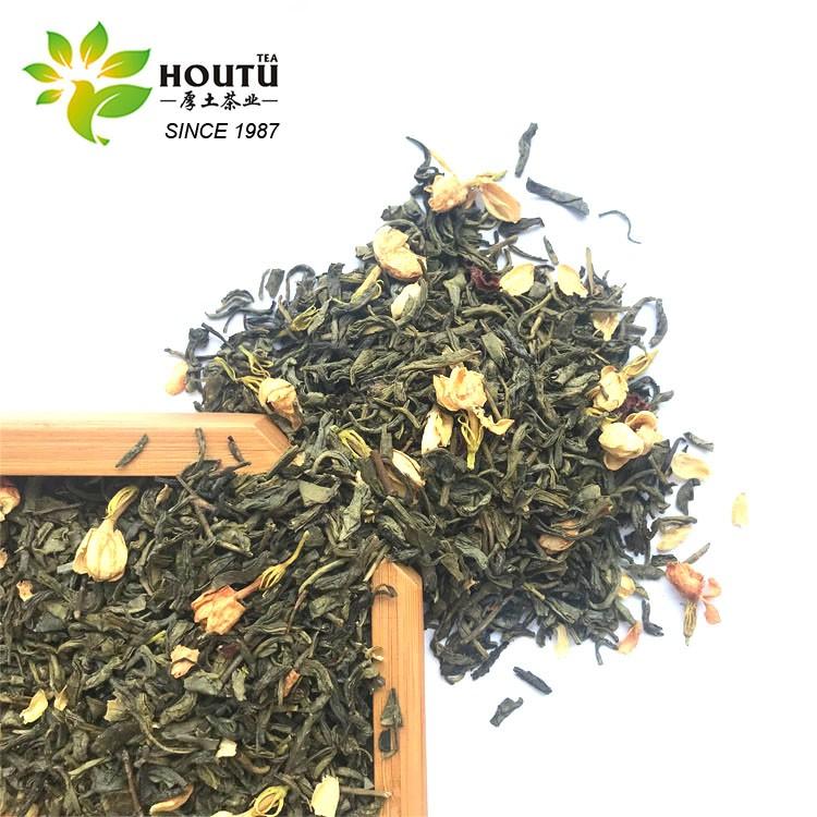 EU Standard Flower Fragrance China  Jasmine Green Tea