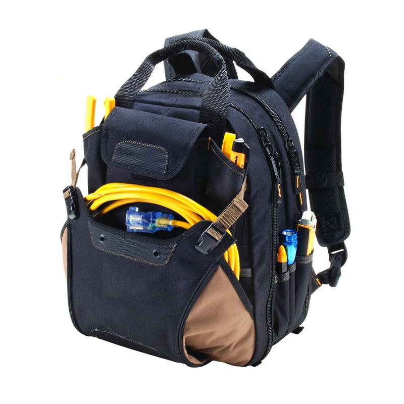 Benutzerdefinierte multifunktions tragbare werkzeug tragen rucksack, toolkit heavy duty elektriker rucksack werkzeug tasche arbeit