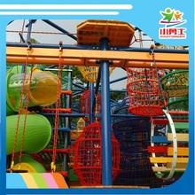 colorful ISO9001 certified wooden outdoor playsets
