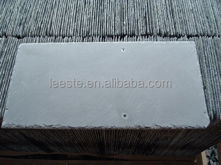 China Factory Natural Green Stone Slate Veneer Roofing Tiles