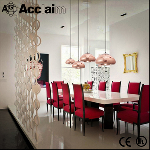 Promotion stock hot-selling low price concrete iron pendant light glass chandelier