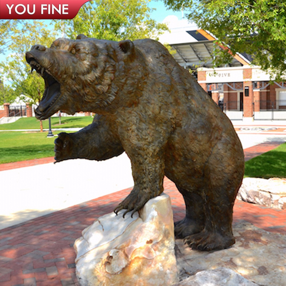 Delicieux Life Size Bear Statue