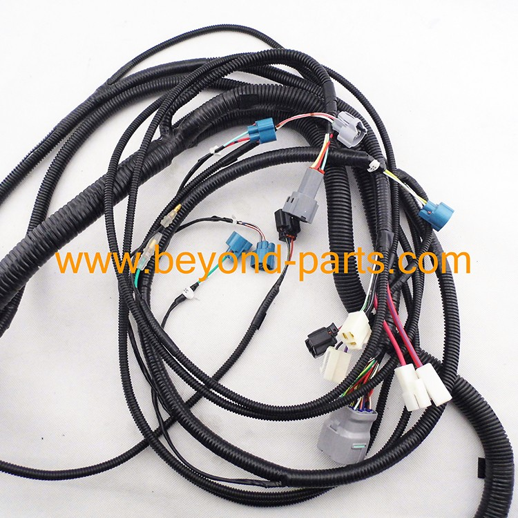 excavator electric parts zax120 zax300 zaxis300 external wiring harness engine and