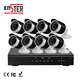 China Factory 8 Channel AHD Outdoor Indoor IR Bullet HD Security Surveillance Cctv Camera System