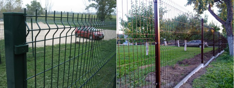 Pvc Coated 3d Fence Panel / Wire Mesh Sheets / V-guard Panels ...