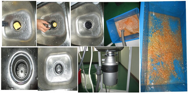 Zhejiang Kitchen Garbage Disposal OEM / Home Waste Compactor / Garbage  Disposal Containers