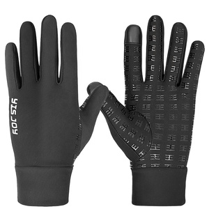 Men Women Outdoor Field Player Football Receiver Gloves Grip Running Walking Hiking Gloves Supplier