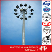 High Mast Flood Lighting Pole used for Street / Road , Highway, Commercial Areas