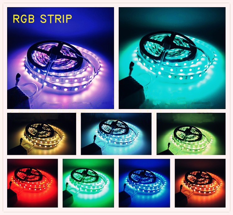 A variety of colors waterproof led flex strip SMD2835 IP20/IP65 CE&ROHS certifications