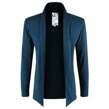 2015 New Fashion Brand Men Casual Sweater Men Solid Color Classic Men Knitting Cardigan Men Trend Slim Fit Men's Sweater 3XL